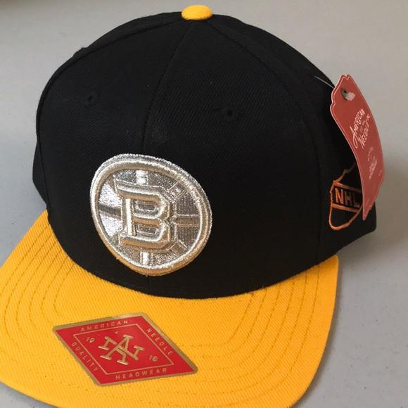 af83f66fae3 Boston Bruins Silver Fox Snapback Hat. Boutique. American Needle